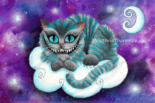 Galaxy Cheshire Cat on my redbubble