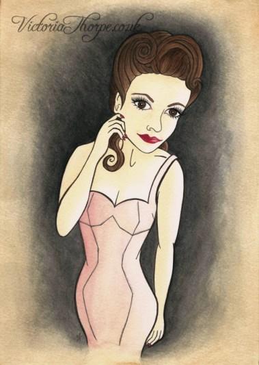 Original A4 Watercolour Painting Available. Contact Enquiries@VictoriaThorpe.co.uk