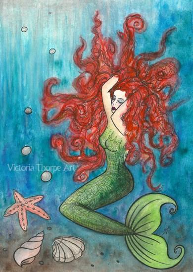 dans mermaid copyr