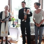 Joyce child dedication 2013