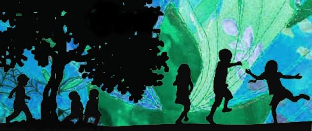 kids green banner
