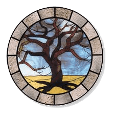 stain glass tree