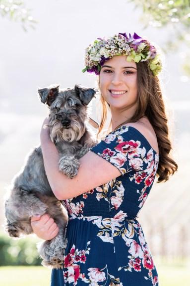 Senior and their pets photos Sonoma County