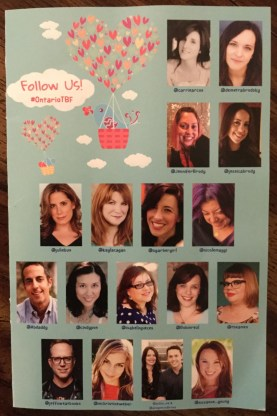 Image of Authors attending the Ontario Teen Book Fest March 2019.