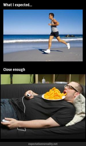 running vs binging