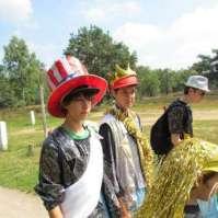 De 14-jarigen gaan verkleed naar De Zanding