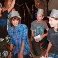 Bonte avond: Brandon, Levi, Jochem en Mees