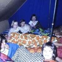 Lekker slapen in een tent