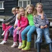 Rode draad groepje met Mandy, Josefiena, Kim, Jasmijn en Valerie
