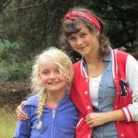 Benthe en Alexandra