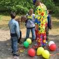 Clown Inge bijna bevrijd