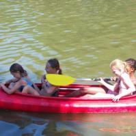 Dolle pret in de kayak