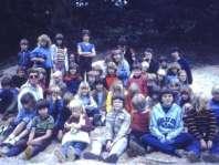 Groepsfoto Victorie Zomerkamp 1980