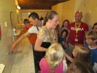 Charlotte wordt op de valreep nog gedoopt