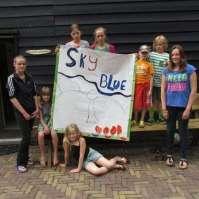 Team 'Sky blue'