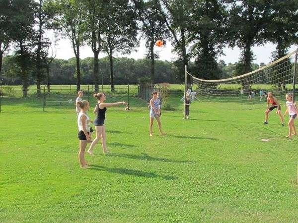 Een potje volleybal