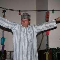 De sultan doet een dansje