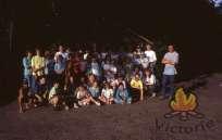 Groepsfoto kamp 1991