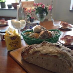 En bild på något gott du ätit i år - surdegsbröd från Svarte.