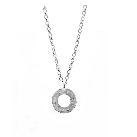 Personalised Circle Necklace