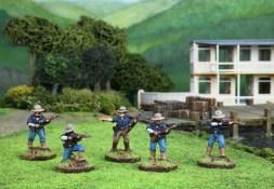 Allied troops