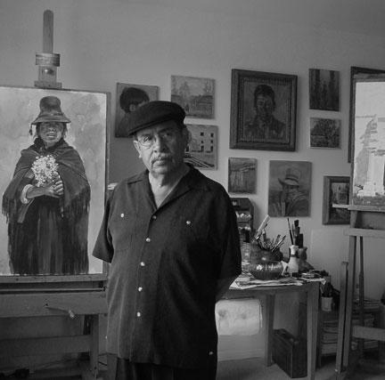 Artist Victor Martinez