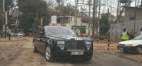 Rolls Royce Phantom kidero