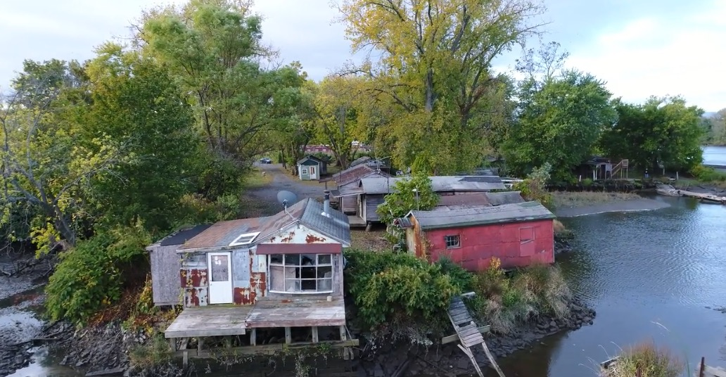 Historic Hudson Fishing Shacks to be Preserved
