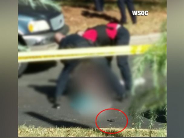 Keith Lamont Scott Charlotte Gun Has his fingerprints DNA