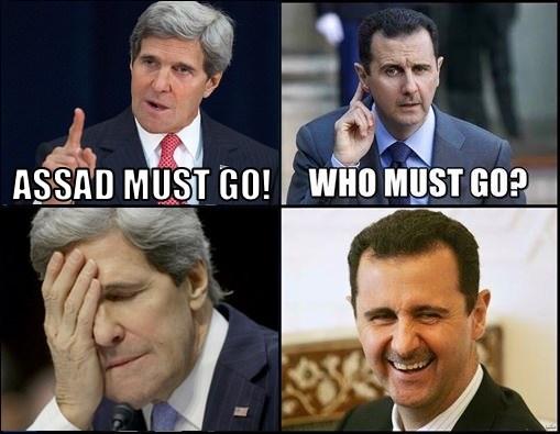 Assad Must Go! John Kerry
