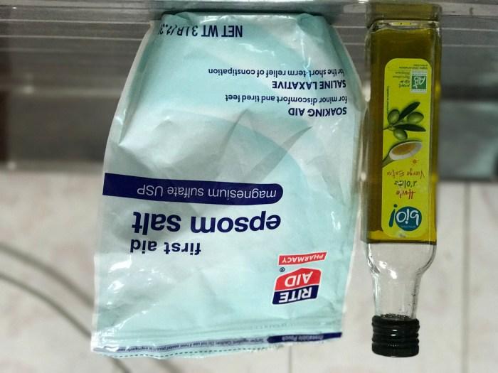 Epsom Salt & Organic Olive Oil