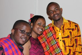 Kevo, Joy and I during #LeAfricanFiesta