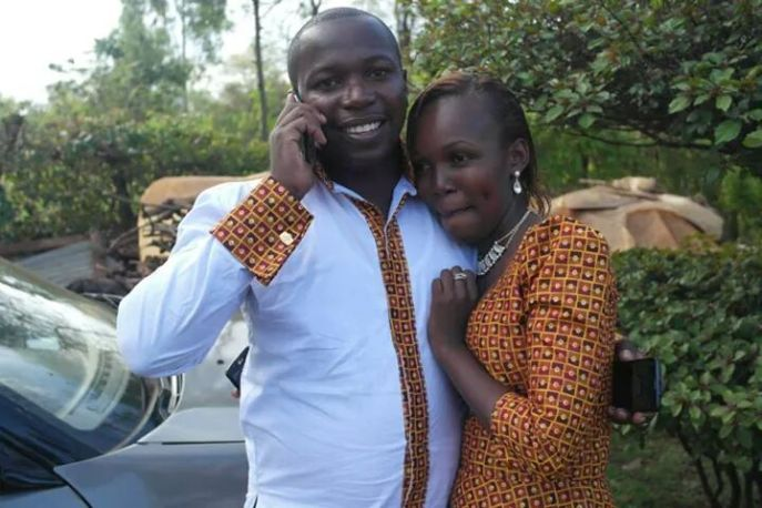 The lovely couple- Mr. & Mrs (to-be) Martin Muto
