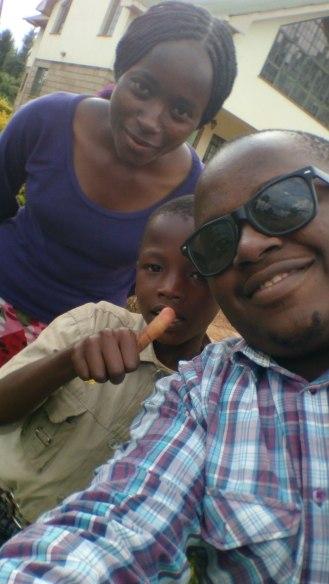 Selfie moment!