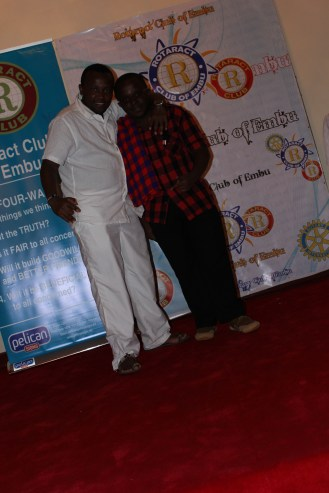 Dj Shaqa and I during Le African Fiesta