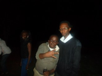 IT Guru Sam and I during Bush Party Season 3