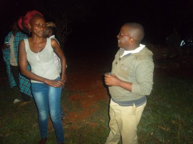 Carol Njiru and I @ Bush party Season 3