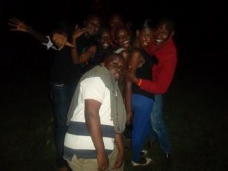 Group pic during Bush Party Season 3