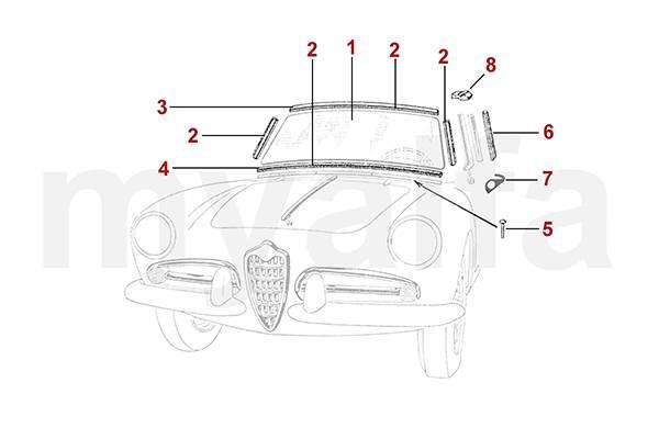 Alfa Romeo ALFA ROMEO GIULIETTA/GIULIA 750/101 PARTS