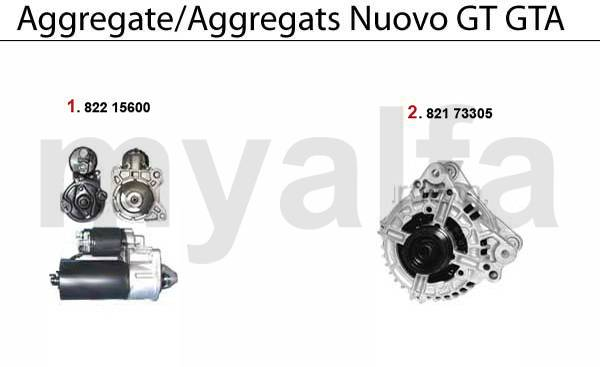 Alfa Romeo ALFA ROMEO NUOVO GT Engine, Engine Parts & Alfa