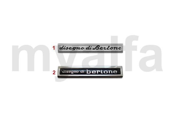 Alfa Romeo ALFA ROMEO GIULIA GT BERTONE EMBLEMS