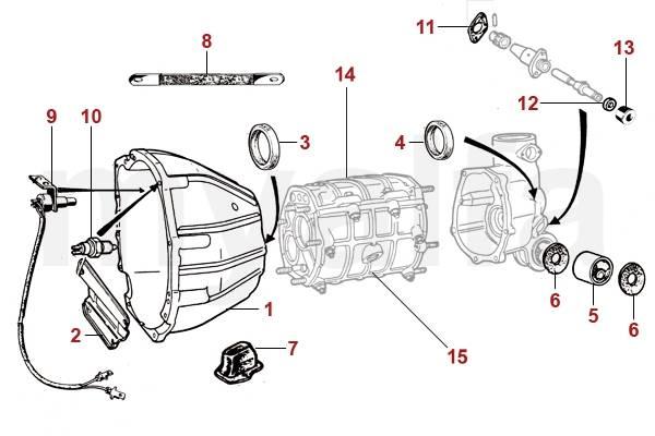 Alfa Romeo Spider (105/115) Boite de vitesses Divers BV