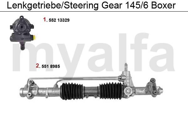 Alfa Romeo ALFA 145/146 STEERING GEAR BOXER ALFA 145/146