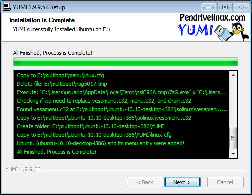 Hacer un usb multibooteable con Yumi 3