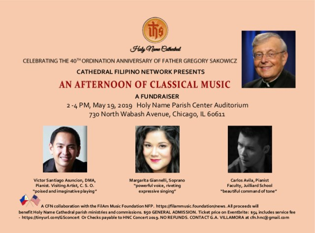 afternoon of classical music