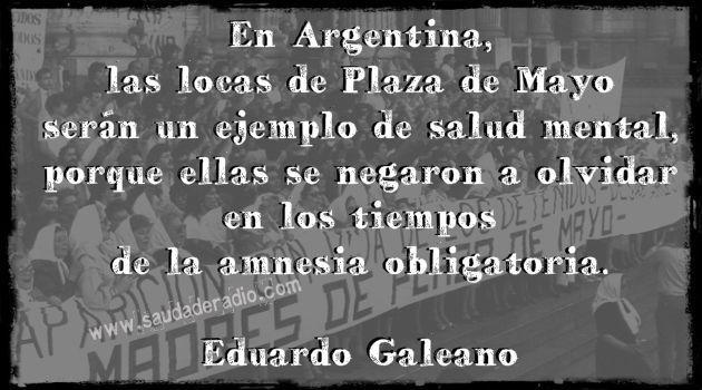 "24 de marzo – Otro dia para repetir ""Nunca Mas"""