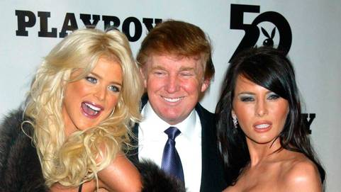 Image result for donald trump bunny playboy