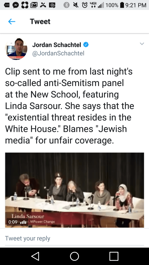 small resolution of on an anti semitism panel a muslim woman blamed the jewish media for her reputation as an anti semite irony is so yummy