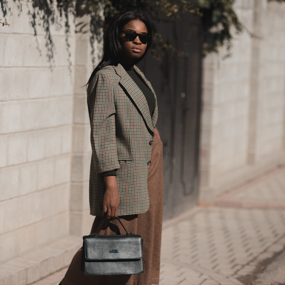 styling blazer and culotte