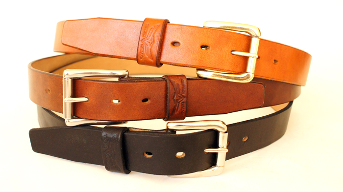 handmade oak bark belts